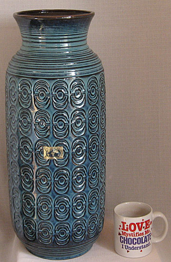 Carstens Europa Vase E 2 West German Pottery