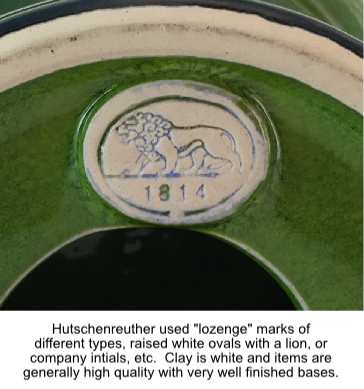 West And East German Pottery Marks And Identification
