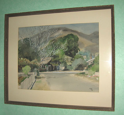 Michel Kady signed Watercolor