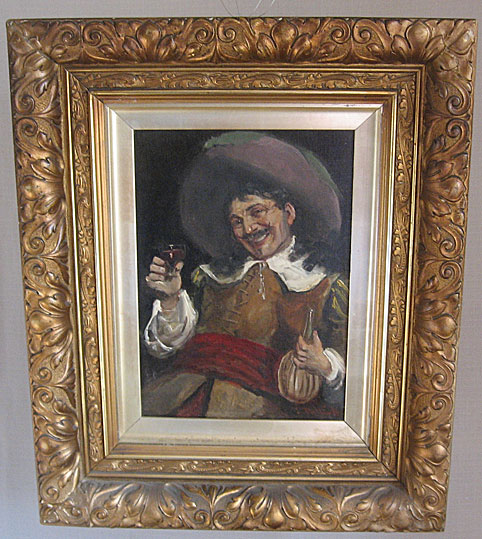 Sir John Pettie oil on canvas Cavalier