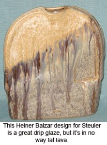 Steuler vase designed by Heiner Balzaar